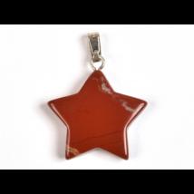 Jáspis csillag medál