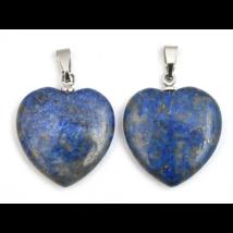 Lápisz lazuli kis szív medál